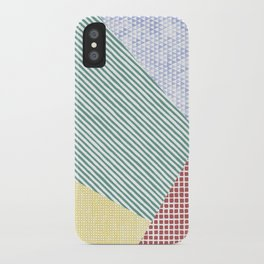 Chalk Patterns iPhone Case