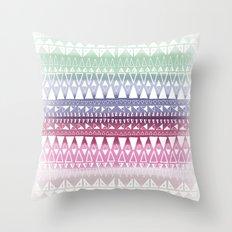 Triangle Gradient Mix Throw Pillow