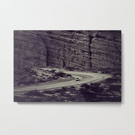 Road-trip in Argentina - Fine Arts Travel Photography Metal Print