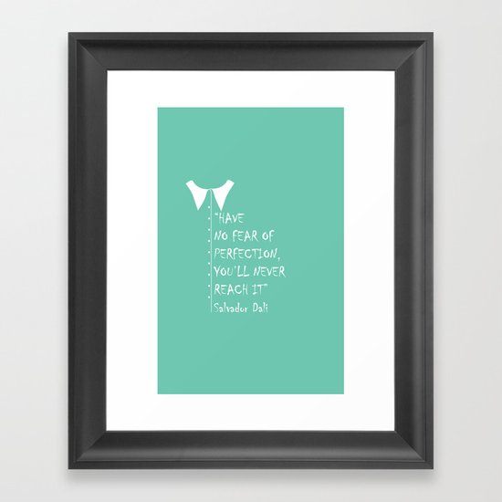QUOTE-6 Framed Art Print