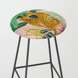 Cheetah Crush Bar Stool