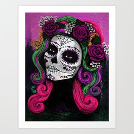 Sugar Skull Candy 3 Art Print