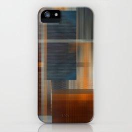 Uninhabited Mosaic (Zig Zag) iPhone Case