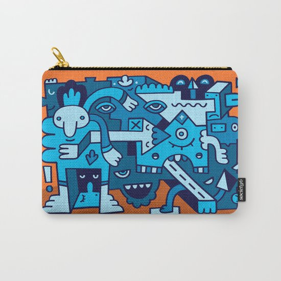 Acidic Auntie Ange Carry-All Pouch