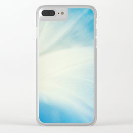 Blue Bell Clear iPhone Case