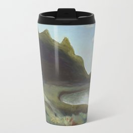 Acadia I with cottage Travel Mug