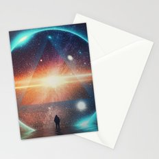 seeing the lights Stationery Cards