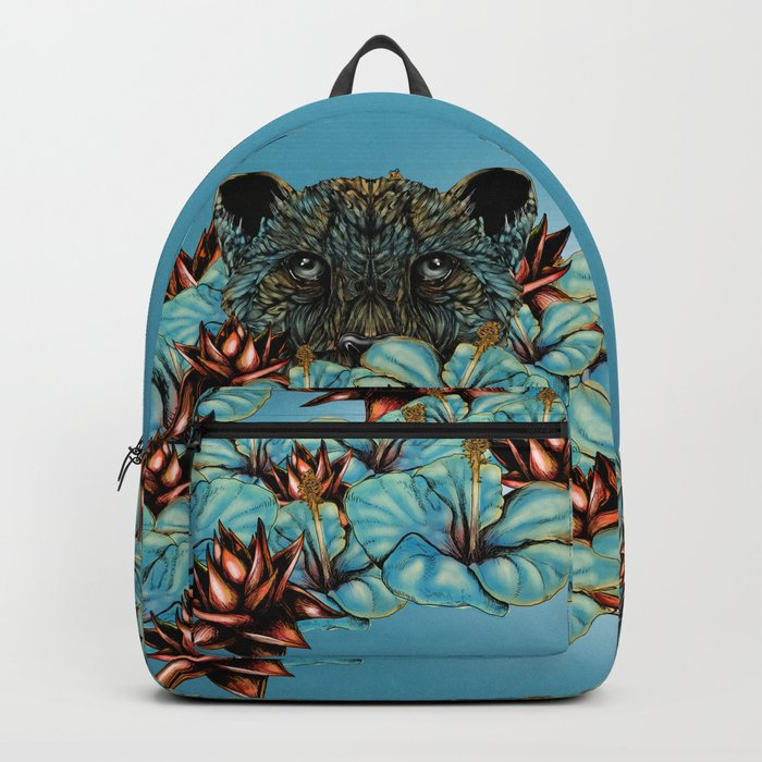 The Tiger and the Flower Backpack