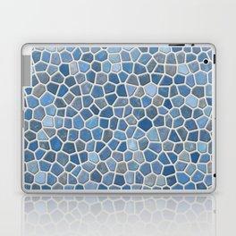Blue Mosaic Pattern - Light Laptop & iPad Skin