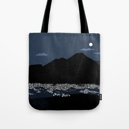 Caracas City at Night by Friztin Tote Bag