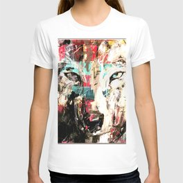 Silverwolf, wolf, painting, wolfpack. T-shirt