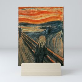 THE SCREAM - EDVARD MUNCH Mini Art Print