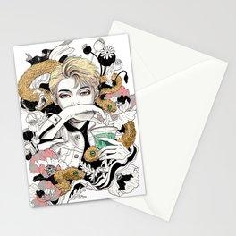 BTS Rap Mon Stationery Cards