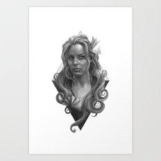 Britta Art Print