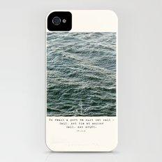 Set Sail (Franklin Delano Roosevelt Quote) iPhone (4, 4s) Slim Case