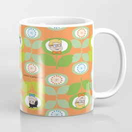 mabo & jimmy garden orange 2 Coffee Mug