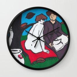 Manet's Picnic Wall Clock
