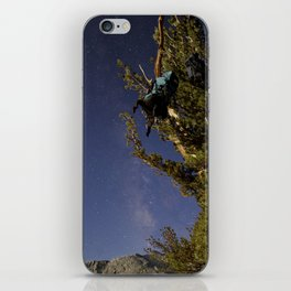 Undiscovered Backpackers iPhone Skin
