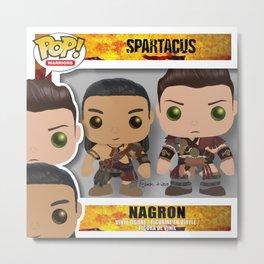 Nagron Spartacus Funko Metal Print