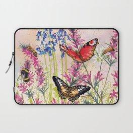 Wild meadow butterflies Laptop Sleeve