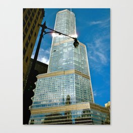 City Shine Canvas Print