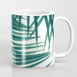 Palm Leaves Green Vibes #4 #tropical #decor #art #society6 Coffee Mug