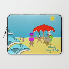 Meerly Living the Life Laptop Sleeve