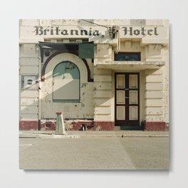 Britannia Hotel Metal Print