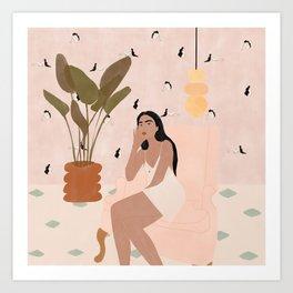 Wallpaper crush Art Print