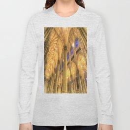 St Patrick's Cathedral Manhattan New York Long Sleeve T-shirt