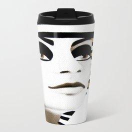 la sfinge cambia look (particolare2) Metal Travel Mug