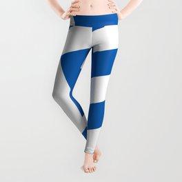 Flag of Greece, High Quality image Leggings