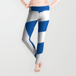 Flag of Greece, High Quality image Leggings