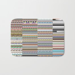 Every illustrator pattern Bath Mat