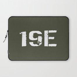 19E M48-M60 Armor Crewman Laptop Sleeve