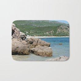 Arrabida beach, Portugal Bath Mat
