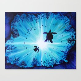 Turtle Tempo Canvas Print