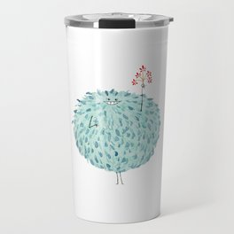 Poofy Frawna Travel Mug