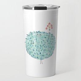 Poofy Frawna Travel Mug