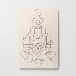 blpm157 Metal Print