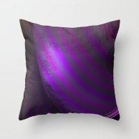 wallpaper Throw Pillows featuring Wallpaper by Fine2art