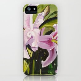 Sunkissed Lilies, Study 2 iPhone Case