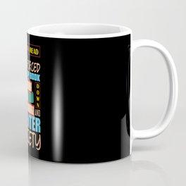 Book Real Life Funny Coffee Mug