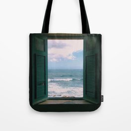 Atlantic Morning Tote Bag