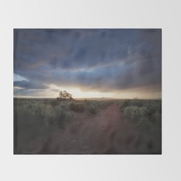 New Mexico Sunset Throw Blanket