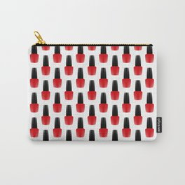 Red Nail Polish Carry-All Pouch
