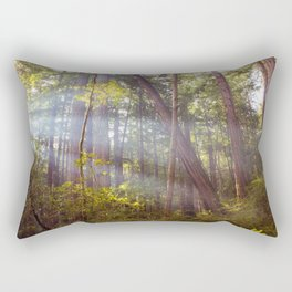 Light Through the Trees Rectangular Pillow