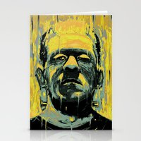 frankenstein Stationery Cards featuring Frankenstein by nicebleed