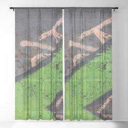 Rustin' piece Sheer Curtain