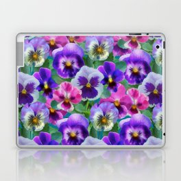 Bouquet of violets I Laptop & iPad Skin